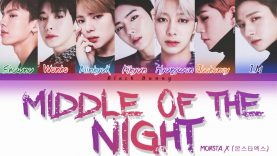 Monsta X – Middle Of The Night – Karaoke